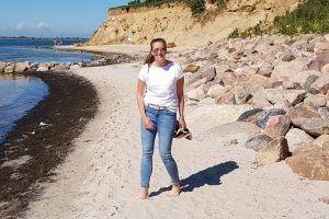 Christina ist der genetische Zwilling eines Leukämiekranken in den USA.